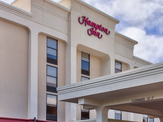 The Hampton Inn Hendersonville